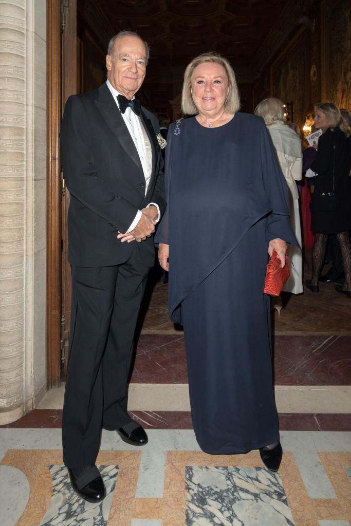 Prince Amyn Aga Khan and Maryvonne Pinault