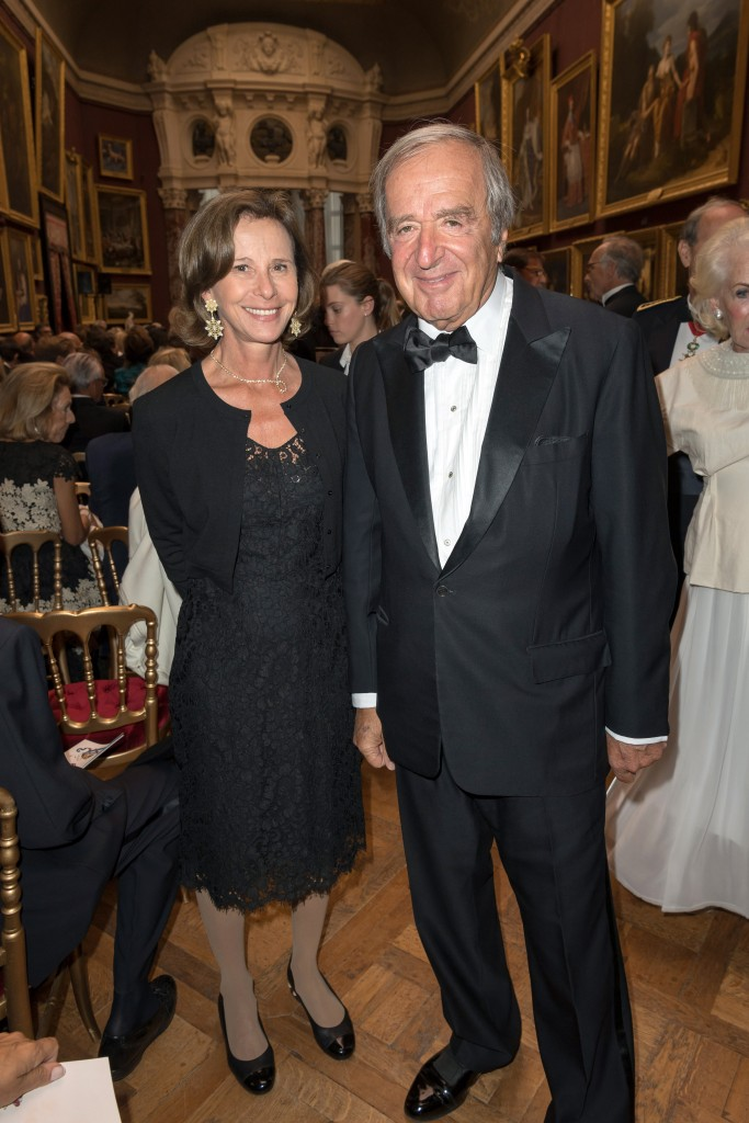 Dominique Arpels and Christian Langlois-Meurinne