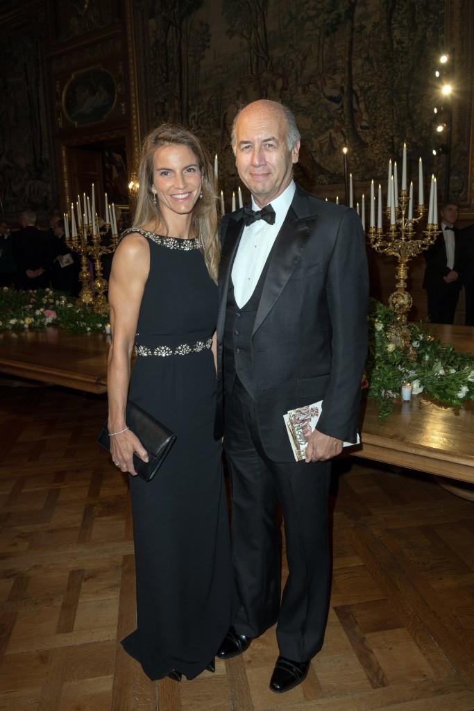 Félicité and Serge Weinberg