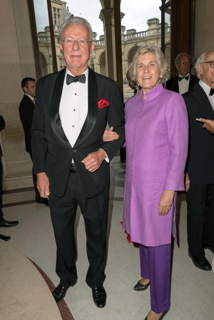 Bertrand and Irène Chardon