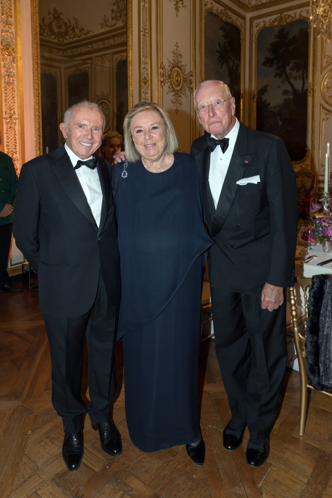 François and Maryvonne Pinault, William Christie