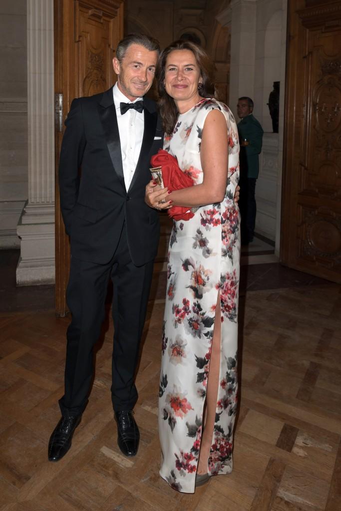 François Sarkozy and Caroline Sarkozy