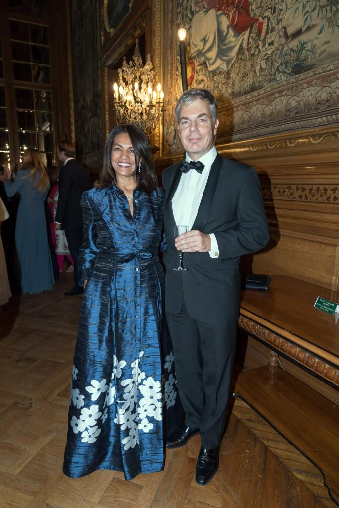 Teresa and Christophe Karvelis