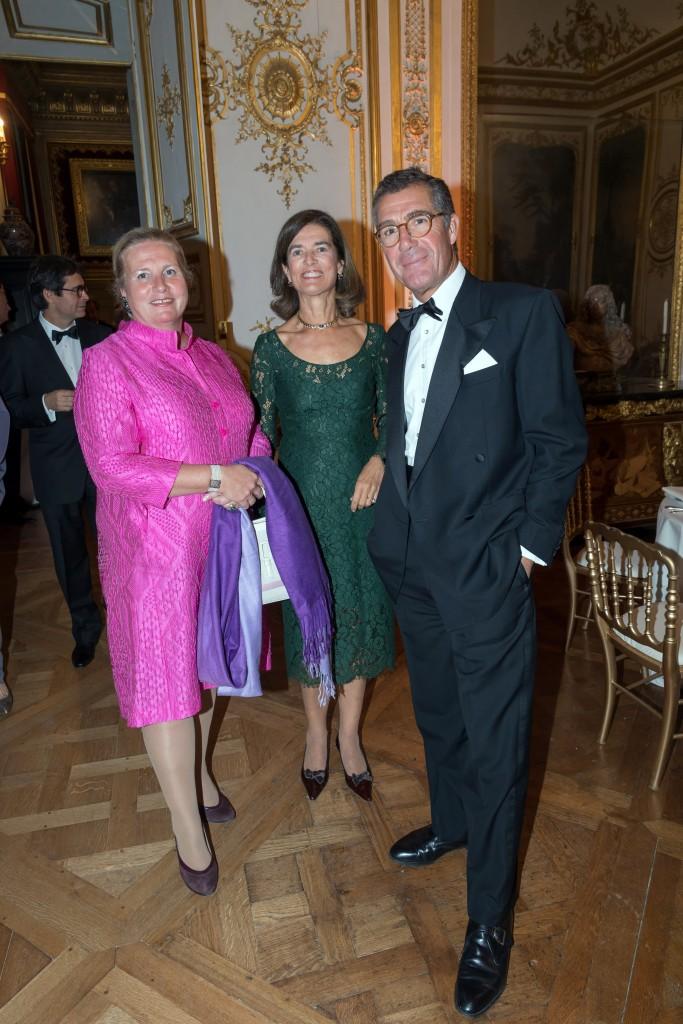Countess Isabelle de Gourcuff, Countess and Count Antoine de Pracomtal