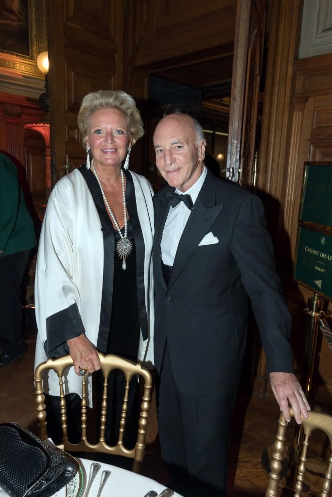 HRH Princess Béatrice de Bourbon des Deux-Siciles and Max Blumberg