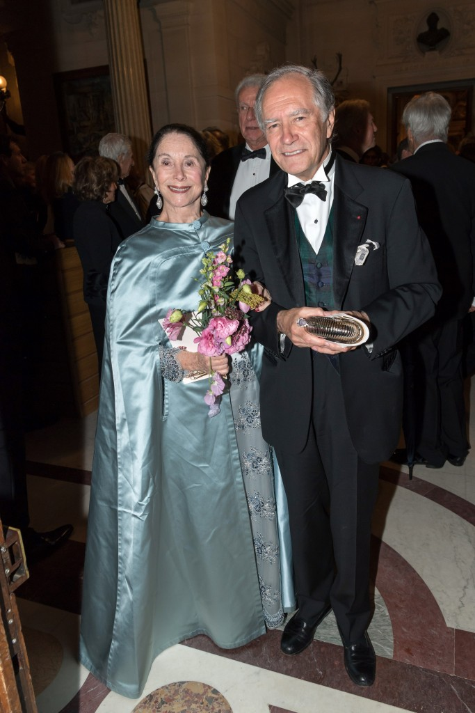 Joan Kahn and Christopher Forbes