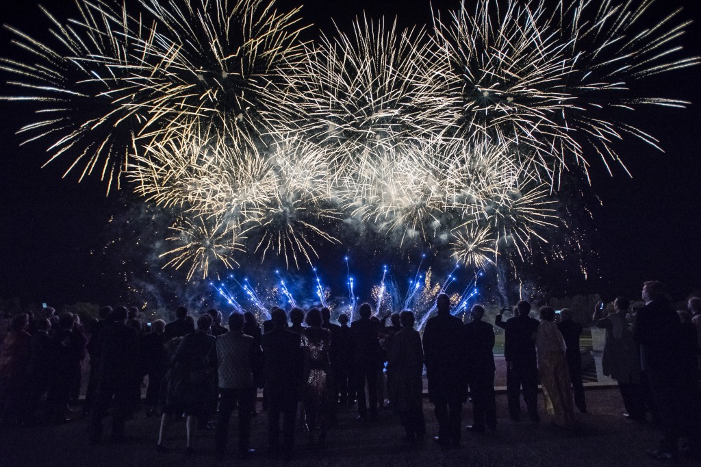 Fireworks show by Grand Final