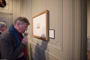"""Ludovic de Montille studies """"Vue d'Amsterdam."""""""