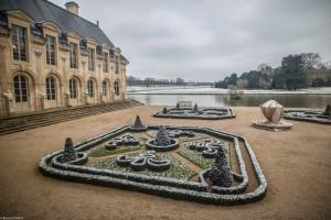 The Gallery of Prints and Drawings overlooking the Jardin de la Volière.