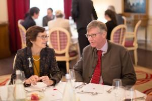 Nicole Garnier and Ludovic de Montille