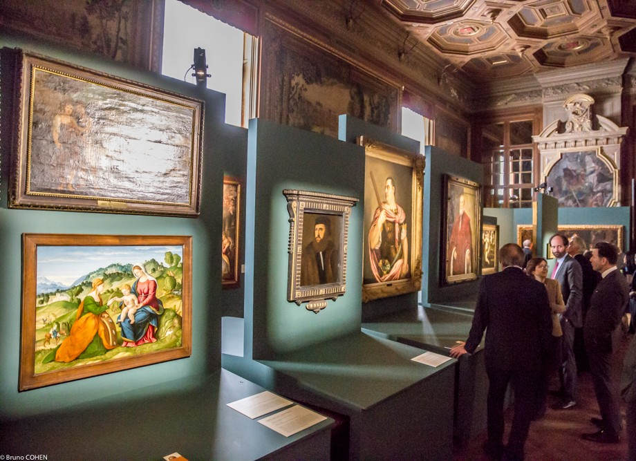 Italian Renaissance paintings in the Stag Gallery