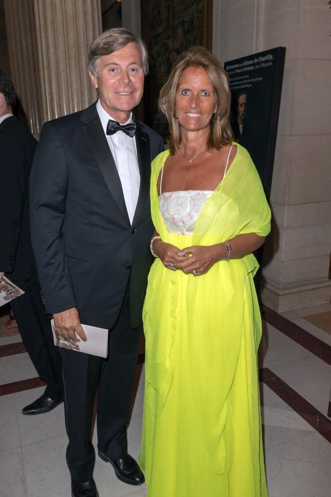 His Excellency and Mrs. Patrick Vercauteren