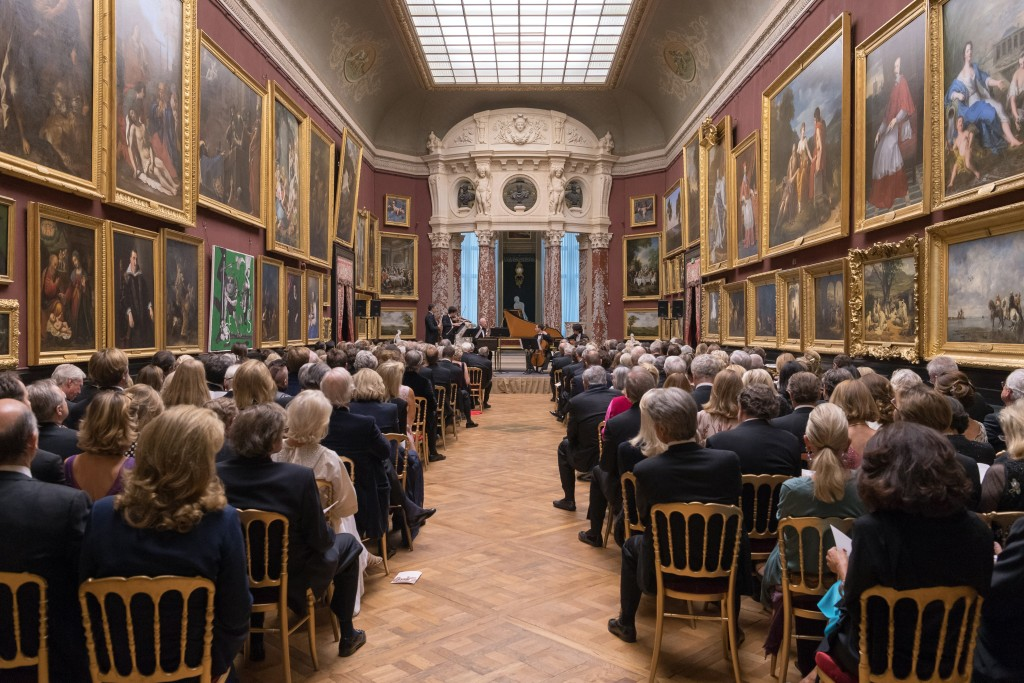 Guests in the Gallery of Paintings