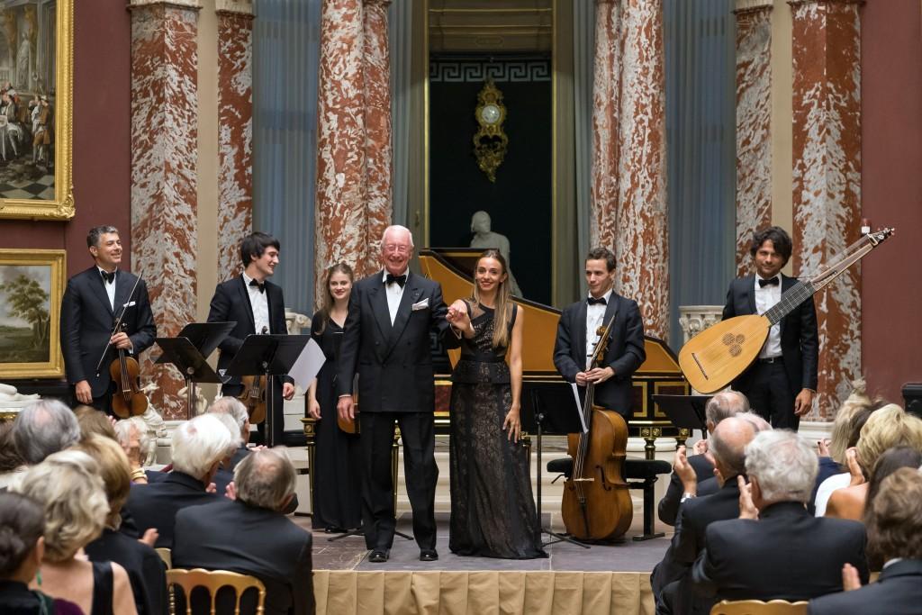 William Christie, Lea Desandre, and the musicians of Les Arts Florissants