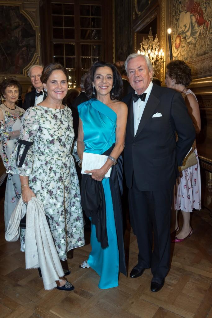 Princess Leticia Poniatowski, Countess Lilian Rossi di Montelera, Prince Stanislas Poniatowski