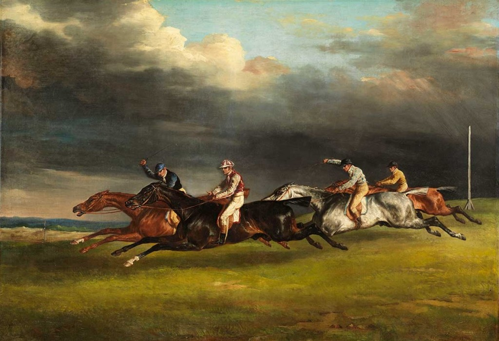 Géricault-Théodore-Course-de-chevaux-dit-Le-Derby-de-1821-à-Epsom-Photo-C-RMN-Grand-Palais-musée-du-Louvre-Philippe-Fuzeau1