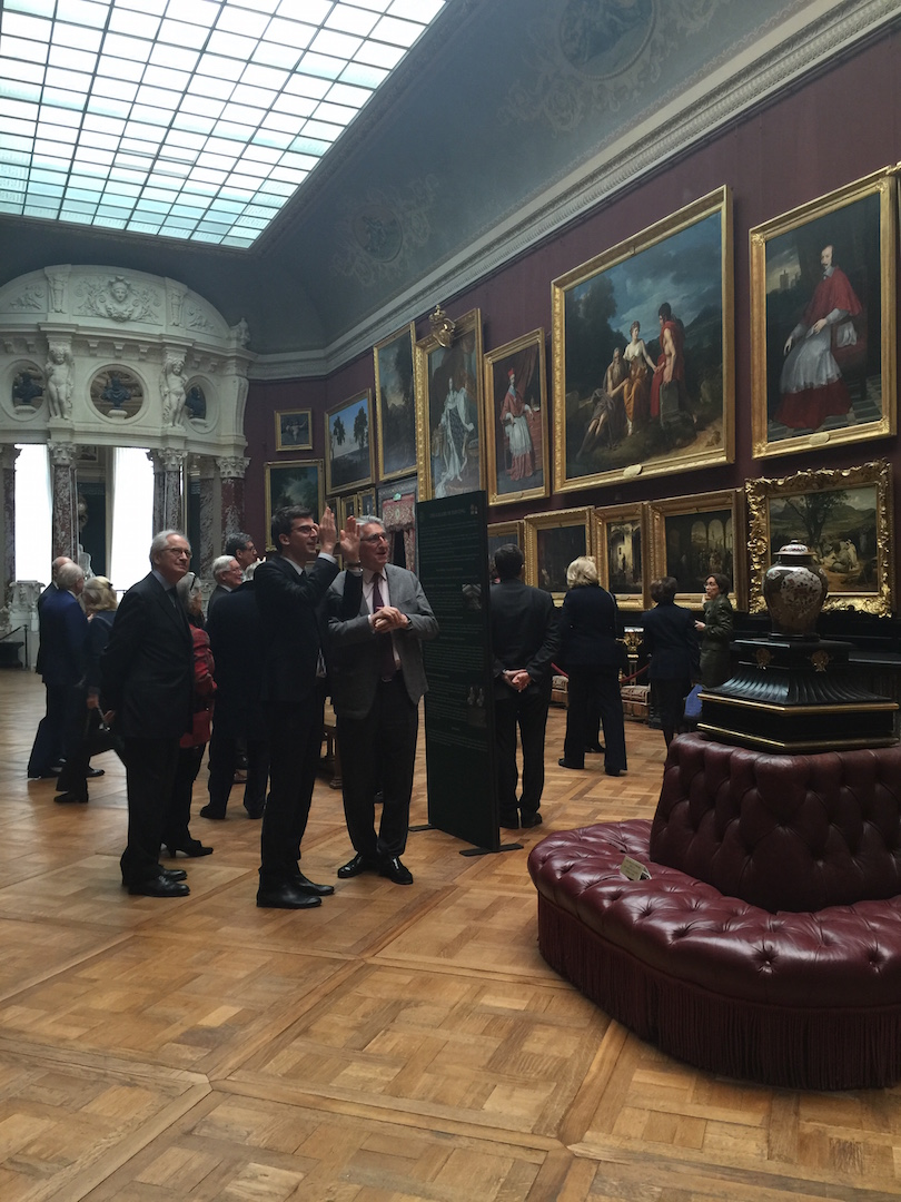 Curators Nicole Garnier and Mathieu Deldicque present the treasures in the Paintings Gallery