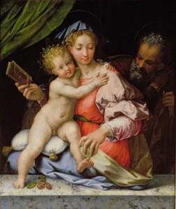 Perino del Vaga, The Holy Family