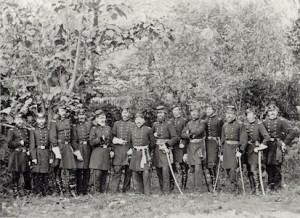 PH-868©musée Condé L Etat major de l armee du Potomac copy