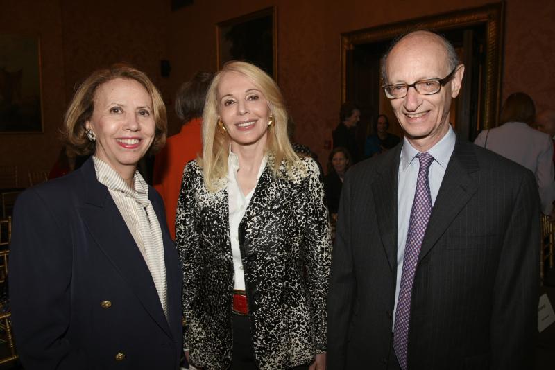 Mireille Goldschmidt, Judy Taubman, and Hubert Goldschmidt
