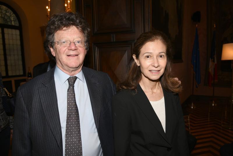 Hervé and Marina Aaron