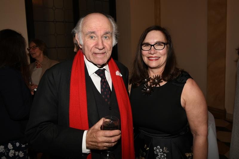 Speaker Pierre Rosenberg and Dr. Susan Kendall