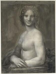 Vinci Léonard de (1452-1519) (école de). Chantilly, musée Condé. DE32.